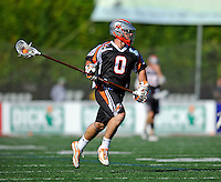 23 August 2008: Denver Outlaws' Defenseman Dan Cocoziello in action against the Los Angeles Riptide during the Semi-Finals of the Major League Lacrosse Championship Weekend at Harvard Stadium in Boston, MA. The Outlaws edged out the Riptide 13-12, advancing to the upcoming Championship Game.. .Mandatory Photo Credit: Ed Wolfstein Photo