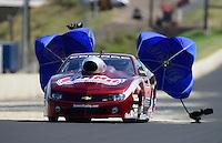 Jul, 21, 2012; Morrison, CO, USA: NHRA pro stock driver Greg Anderson during qualifying for the Mile High Nationals at Bandimere Speedway. Mandatory Credit: Mark J. Rebilas-US PRESSWIRE