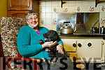 Sheila Nolan with her dog sooty.