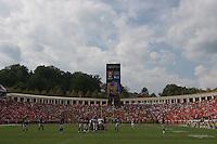 Virginia Cavalier football at the University of Virginia in Charlottesville, VA. Photo/Andrew Shurtleff.