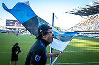 SAN JOSE, CA - JUNE 26: San Jose Earthquakes players during a game between Los Angeles Galaxy and San Jose Earthquakes at PayPal Park on June 26, 2021 in San Jose, California.