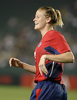 Cindy Parlow, USWNT vs. Costa Rica, September 1, 2003.