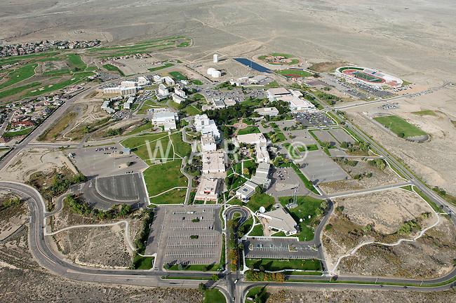 aerial of Colorado State University Pueblo