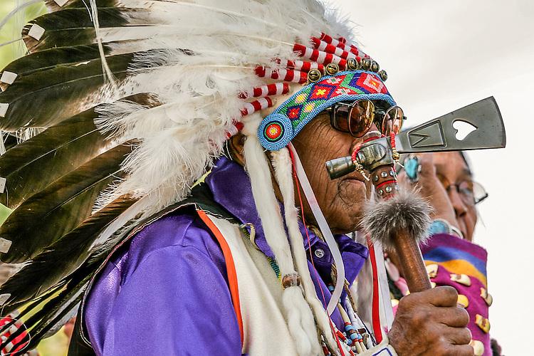 Dr. Joseph Medicine Crow 2009 Crow Fair Parade