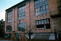 Charles Rennie Mackintosh: Glascow Art School. North Facade, East Wing, 1897-99.