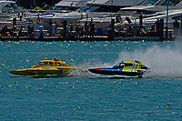 """Frame 5: Andrew Tate, H-300 """"Pennzoil"""", Donny Allen, H-14 """"Legacy 1""""       (H350 Hydro)"""