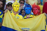 Rio de Janeiro, Brazil - June 25, 2014: France and Ecuador played to a 0-0 draw in the teams' final Group E match at Maracanã Stadium.