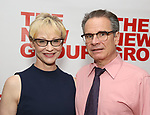 """Tracy Shayne and Peter Scolari attends the New Group World Premiere of """"The True"""" on September 20, 2018 at The Green Fig Urban Eatery in New York City."""