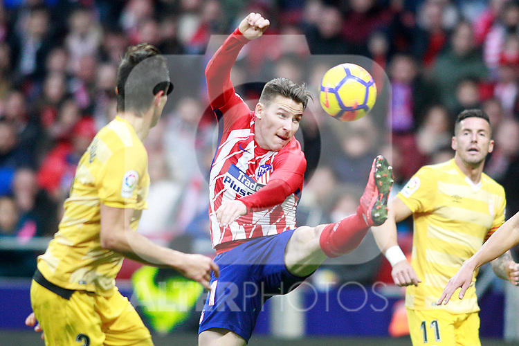 Atletico de Madrid's Kevin Gameiro during La Liga match. January 20,2018. (ALTERPHOTOS/Acero)