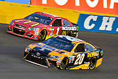Monster Energy NASCAR Cup Series<br /> Monster Energy NASCAR All-Star Race<br /> Charlotte Motor Speedway, Concord, NC USA<br /> Saturday 20 May 2017<br /> Matt Kenseth, Joe Gibbs Racing, DEWALT Benefiting Wounded Warriors Project Toyota Camry and Jamie McMurray, Chip Ganassi Racing, McDonald's Chevrolet SS<br /> World Copyright: Nigel Kinrade<br /> LAT Images<br /> ref: Digital Image 17CLT1nk06104