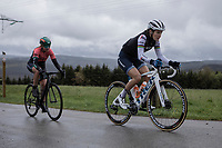 Elizabeth Deignan (GBR/Trek-Segafredo) up the Côte de Brume. <br /> <br /> 3th Liège-Bastogne-Liège-Femmes 2019 (1.WWT)<br /> 1 Day Race: Bastogne – Liège 138,5km<br /> <br /> ©kramon