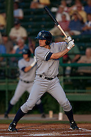 April 22 2010: Bradley Suttle (36) of the Tampa Yankees during a game vs. the Daytona Beach Cubs at Jackie Robinson Ballpark in Daytona Beach, Florida. Daytona, the Florida State League High-A affiliate of the Chicago Cubs, won the game against Tampa, affiliate of the New York Yankees, by the score of 9-6.  Photo By Scott Jontes/Four Seam Images
