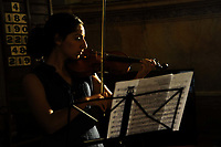 RomeSmarts - Rome Summer Musical Arts.<br /> Toyich International Projects in collaboration with the University of Toronto, Canada.<br /> Concert rehearsal in the Church.