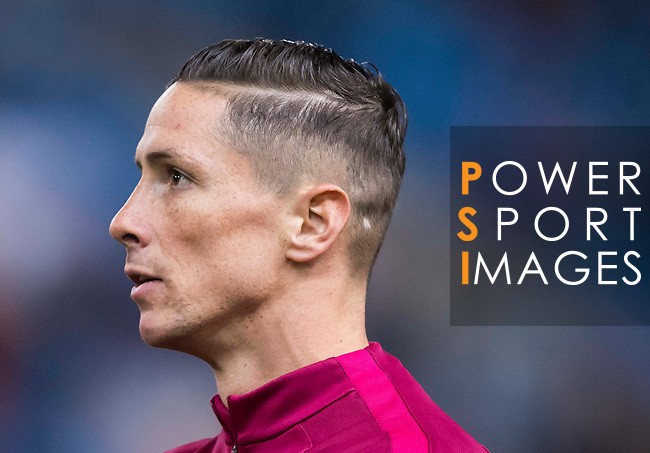 Fernando Torres of Atletico de Madrid in training prior to the Copa del Rey 2016-17 Round of 16 match between Atletico de Madrid and UD Las Palmas at the Vicente Calderón Stadium on 10 January 2017 in Madrid, Spain. Photo by Diego Gonzalez Souto / Power Sport Images