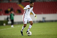 GUADALAJARA, MEXICO - MARCH 24: Jesus Ferreira #9 of the United States during a game between Mexico and USMNT U-23 at Estadio Jalisco on March 24, 2021 in Guadalajara, Mexico.
