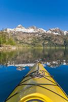 Sea kayaking, Copper Bay, Knight Island, Prince William Sound, Alaska