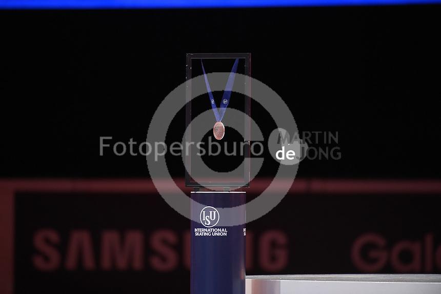 SPEEDSKATING: DORDRECHT: 06-03-2021, ISU World Short Track Speedskating Championships, bronze medal, ©photo Martin de Jong