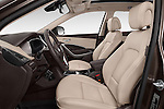 Front seat view of 2016 Hyundai Santa-Fe Executive 5 Door Suv Front Seat  car photos