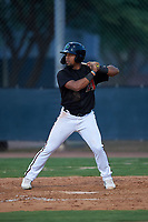 AZL D-backs Eddie Hernandez (4) at bat during an Arizona League game against the AZL Mariners on July 3, 2019 at Salt River Fields at Talking Stick in Scottsdale, Arizona. The AZL D-backs defeated the AZL Mariners 3-1. (Zachary Lucy/Four Seam Images)