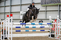NZL-Natasha Brooks rides Versace C. Class 30: Sky Sport Next 1.30m-1.35m 10K - FINAL. 2021 NZL-Easter Jumping Festival presented by McIntosh Global Equestrian and Equestrian Entries. NEC Taupo. Sunday 4 April. Copyright Photo: Libby Law Photography