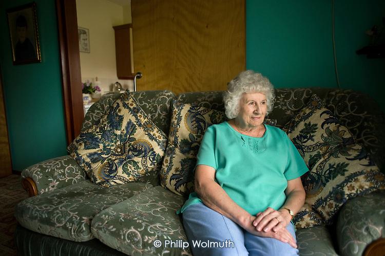 Sheltered housing resident, Darley Dale. Derbyshire