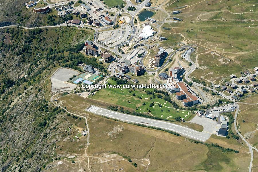 Alpe d'Huez FRANKREICH 20 8.2020: Alpe d'Huez