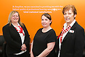 Amplifon Audiologist Lynsey McDonald (centre) and branch coordinators Danielle Douglas and Sandra Cameron<br /> <br /> 29/06/2016    024_amplifon  <br /> Copyright  Pic : James Stewart   <br /> James Stewart Photography, 19 Carronlea Drive, Falkirk. FK2 8DN  <br /> Vat Reg No. 607 6932 25  <br /> Mobile : +44 (0)7721 416997  <br /> E-mail  :  jim@jspa.co.uk  <br /> If you require further information then contact Jim Stewart on any of the numbers above ...