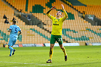 9th January 2021; Carrow Road, Norwich, Norfolk, England, English FA Cup Football, Norwich versus Coventry City; Kenny McLean of Norwich City reacts as he misses a good chance on goal