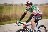 italian national champion & defending race champion Elia VIVIANI (ITA/Deceuninck-Quick Step)<br /> <br /> 43rd Driedaagse Brugge-De Panne 2019 <br /> One day race (1.UWT) from Brugge to De Panne BEL (200km)<br /> <br /> ©kramon