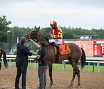 07162020:Junior Alvarado wins the Schuylerville S on Dayoutoftheoffice trained by Timothy Hamm Saratoga 2020 <br /> Robert Simmons/Eclipse Sportswire