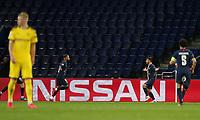 Paris St Germain's Juan Bernat celebrates scoring their second goal with Neymar   <br /> Photo Pool/Panoramic/Insidefoto
