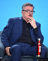 """PASADENA, CA - JANUARY 13: Cast member Nathan Lane attends the panel for """"Penny Dreadful: City of Angels"""" during the Showtime presentation at the 2020 TCA Winter Press Tour at the Langham Huntington on January 13, 2020 in Pasadena, California. (Photo by Frank Micelotta/PictureGroup)"""