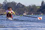 Rowing, China Lightweight men's pair, Xiangdang Wang, Feng Xue, stroke, LM2-, Chinese rowing, 2010 FISA World Rowing Championships, Lake Karapiro, Hamilton, New Zealand, November 2, 2010, Repechage,