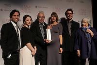Francois Dompierre<br /> <br /> at the Gala du cinema Quebecois, March 20, 2016<br /> <br /> Photo : Pierre Roussel - Agence Quebec Presse