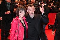 JOHN HURT - RED CARPET OF THE FILM 'THE GRAND BUDAPEST HOTEL' - BERLIN INTERNATIONAL FILM FESTIVAL 2014