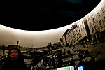 A visitor looks at the 'Photorama Lumiere' display at the Institut Lumiere, Lyon, France, 13 January 2012<br /> <br /> ***HINWEIS BEZUEGLICH DER ABBILDUNG VON KUNSTWERKEN. RECHTE DRITTER SIND VOM NUTZER ZU KLAEREN***