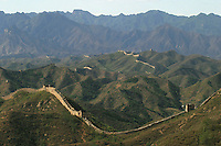 The Great Wall in Beijing, China..20-OCT-03