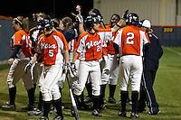 SAN ANTONIO, TX - MARCH 4, 2008: The Baylor University Bears vs. The University of Texas at San Antonio Roadrunners Softball at Roadrunner Field. (Photo by Jeff Huehn)