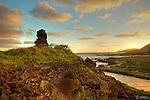 Sunset on the East side of Oahu, Allen Davis.