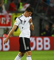Mario Gomez (Deutschland Germany) - 02.06.2018: Österreich vs. Deutschland, Wörthersee Stadion in Klagenfurt am Wörthersee, Freundschaftsspiel WM-Vorbereitung