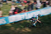 Eli Iserbyt (BEL/Marlux-Bingoal)<br /> <br /> GP Mario De Clercq / Hotond cross 2018 (Ronse, BEL)