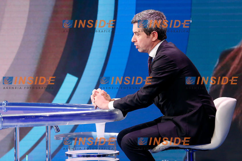 The deputy and vice secretary of the Italian Democratic Party Andrea Orlando appears as a guest on the talk show Porta a Porta. <br /> Rome (Italy), November 19th 2020<br /> Photo Samantha Zucchi Insidefoto