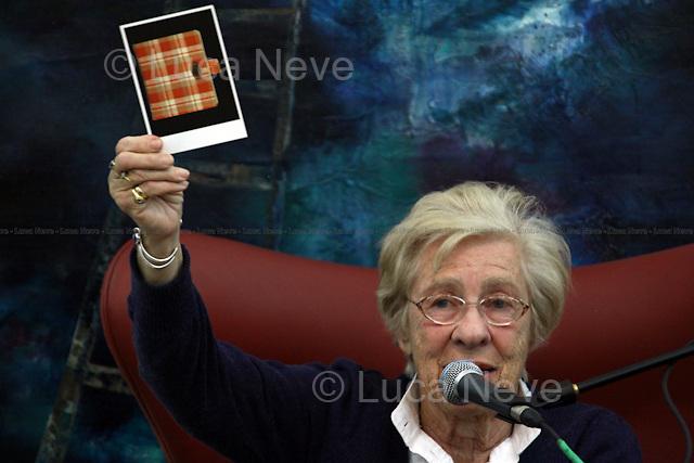 Eva Schloss, step-sister of Anne Frank - London 2010