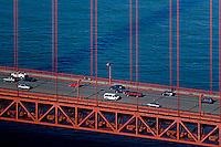 aerial photograph Golden Gate bridge, San Francisco, California