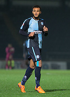 Aaron Amadi-Holloway of Wycombe Wanderers during the Sky Bet League 2 match between Wycombe Wanderers and Notts County at Adams Park, High Wycombe, England on 15 December 2015. Photo by Andy Rowland.
