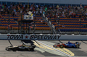 James Hinchcliffe, Schmidt Peterson Motorsports Honda checkered flag