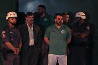 Campinas (SP), 16/03/2020 - Guarani-Ponte Preta - Presidente do Guarani, Ricardo Moises. Torcedores do Guarani acompanham jogo em telao montado em frente ao estadio Brinco de Ouro, nesta segunda-feira (16), em partida contra a Ponte Preta pelo Campeonato Paulista. A partida tera portoes fechados devido a determinacao em protecao a transmissao do Coronavirus (Covid-19). (Foto: Luciano Claudino/Codigo 19/Codigo 19)