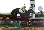 November 7, 2020 : Monomoy Girl, ridden by Florent Geroux, wins the Longines Distaff on Breeders' Cup Championship Saturday at Keeneland Race Course in Lexington, Kentucky on November 7, 2020. Bill Denver/Breeders' Cup/Eclipse Sportswire/CSM