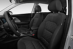 Front seat view of 2018 KIA Niro FE 5 Door Hatchback Front Seat  car photos