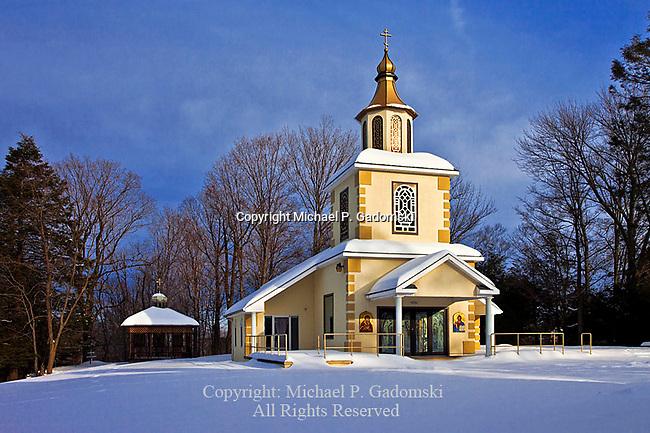 Saint Tikhon's Russian Orthodox Chapel, South Canaan; Pennsylvania